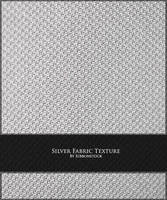 Silver Fabric Texture by Ribbonstock