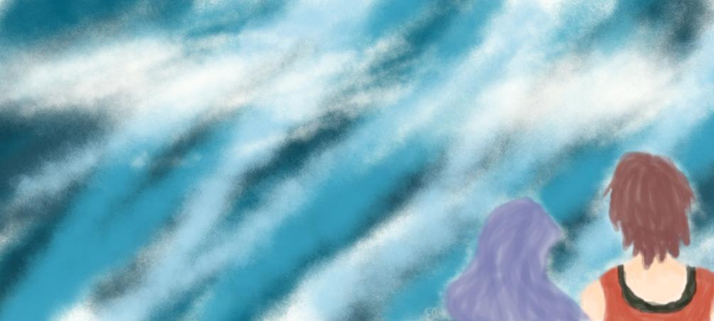 KeiRika - Sky Gazing by Katsu14