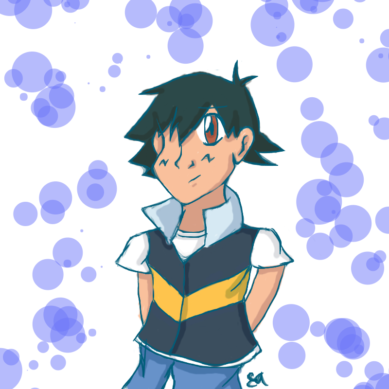 Random Satoshi is Random by Katsu14