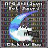RPG Skill Icons: Sword Skills Showcase