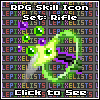 RPG Icons: Rifle Skills Showcase by LePixelists