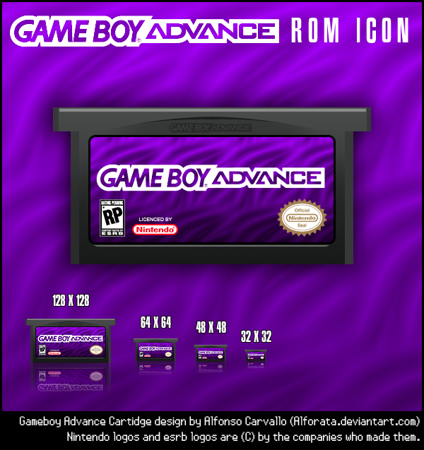 Gameboy Advance Rom Icons by Alforata on DeviantArt