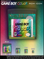 Gameboy Color Only Rom Icons