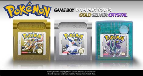Pokemon Rom Icons GSC