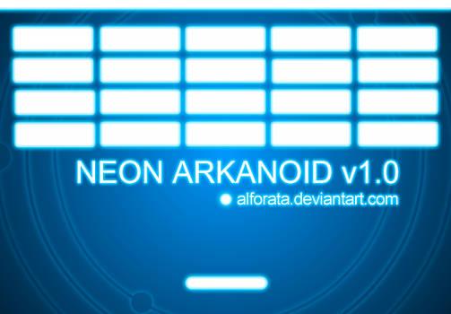 Neon Arkanoid v1.0
