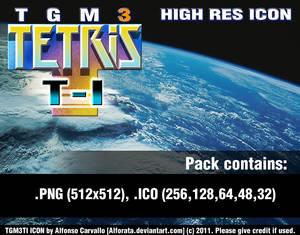 TETRIS: TGM Ti - High Res Icon