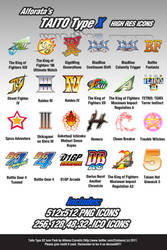 TAITO Type X2 - High Res Icons
