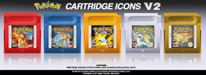 Pokemon GB Cartridge Icons