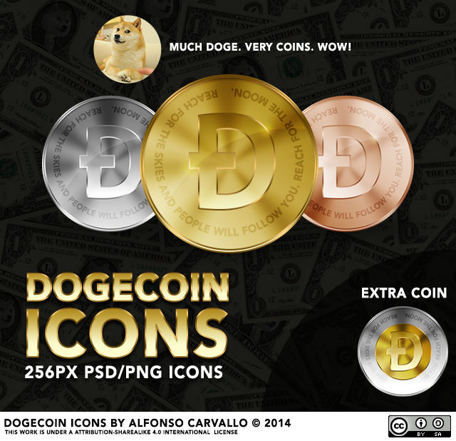 Dogecoin Icons