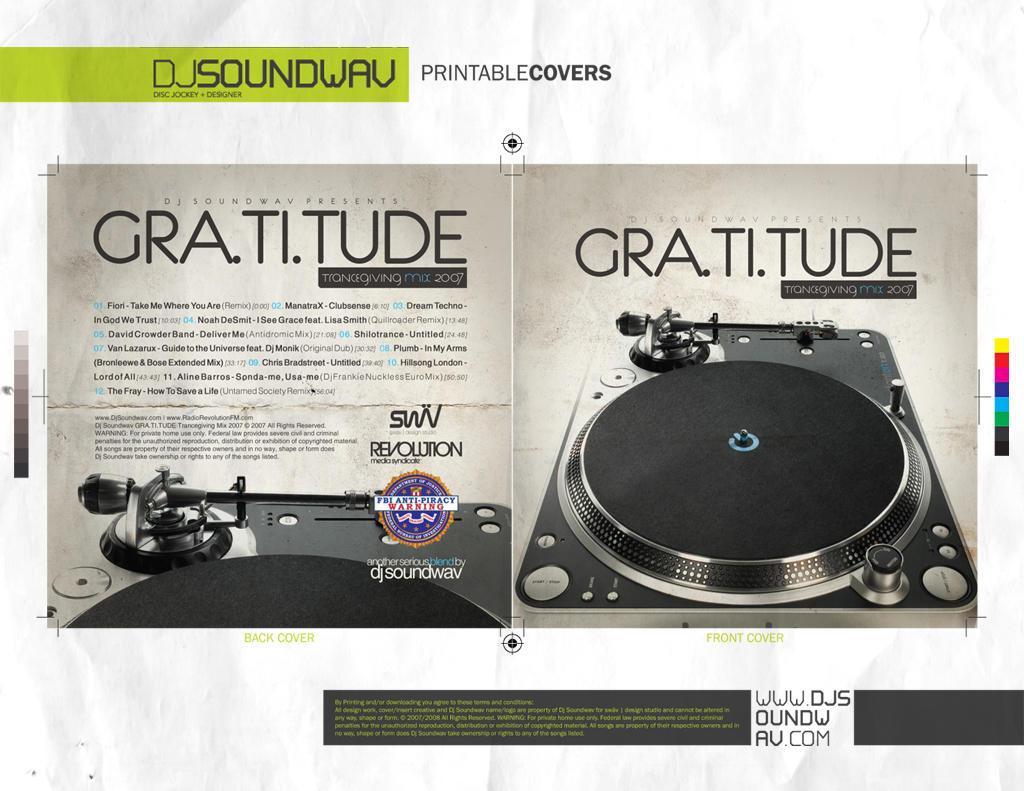 Mix Cover - GRA.TI.TUDE Mix by angelaacevedo