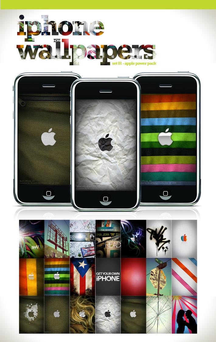 iPhone Wallpaper - Set 1 by angelaacevedo