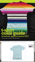 T-Shirt Color Guide - AA