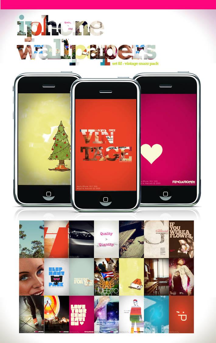 iPhone Wallpaper - Set 2 by angelaacevedo