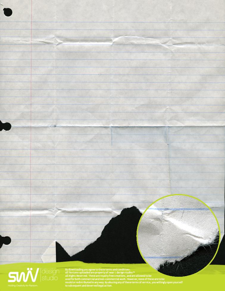 Texture: Notebook Paper - 2