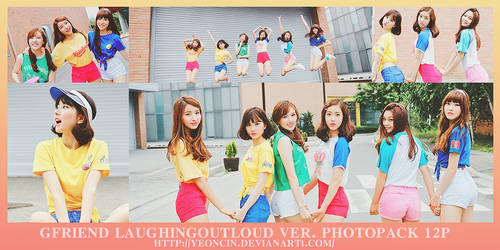 GFriend Laughingoutloud Ver. Photopack 12p by yeoncin