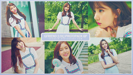 GFRIEND [LOL] PHOTOPACK 6P by yeoncin