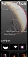2008 Lunar Eclipse Moon Pack by FantasyStock