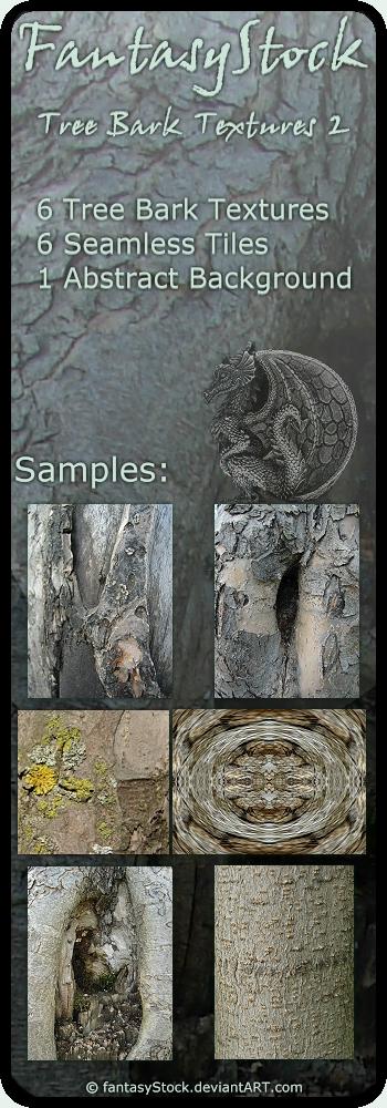Tree Bark Textures Zip Pack 2