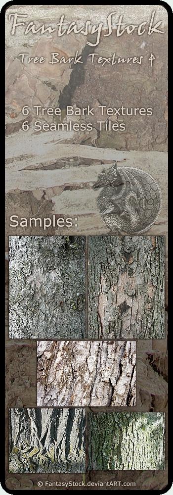 Tree Bark Textures Zip Pack 4