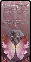 Pink Pixie Wings Zip Pack 1