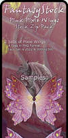Pink Pixie Wings Zip Pack 2