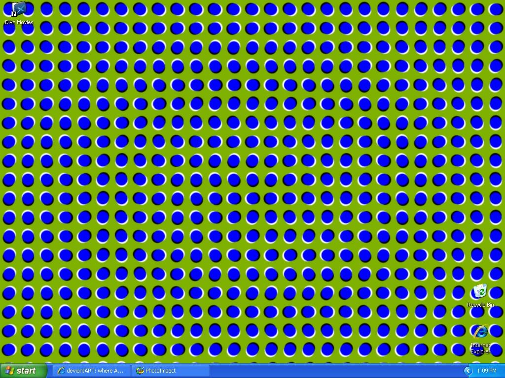 FLuffee's Optical Illusion WP