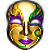 Free Avatar: Gold Mask by FantasyStock