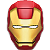 Free Avatar: Ironman Mask by FantasyStock