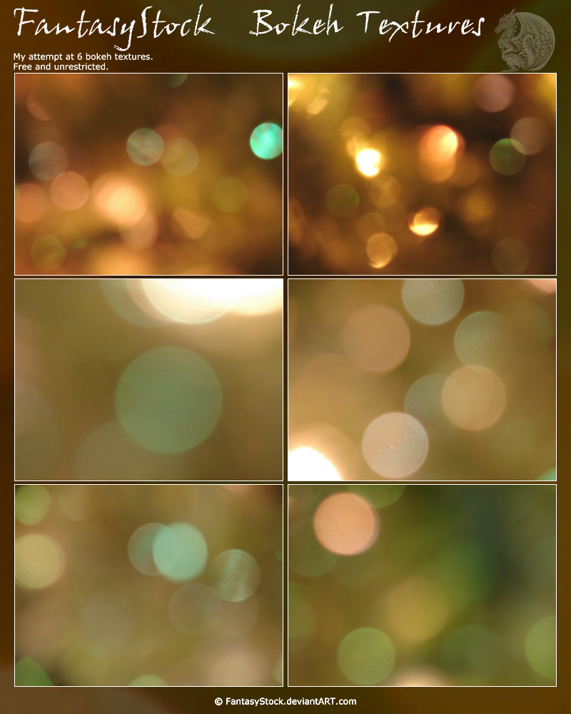 Bokeh Texture Zip Pack 1 by FantasyStock