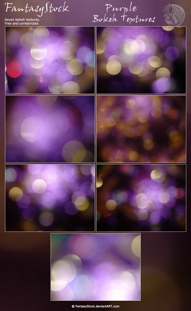 Bokeh Texture Zip Pack 3 by FantasyStock
