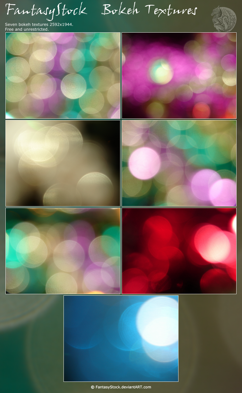 Bokeh Texture Zip Pack 6 by FantasyStock