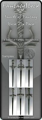 Swords of Fantasy Zip Pack