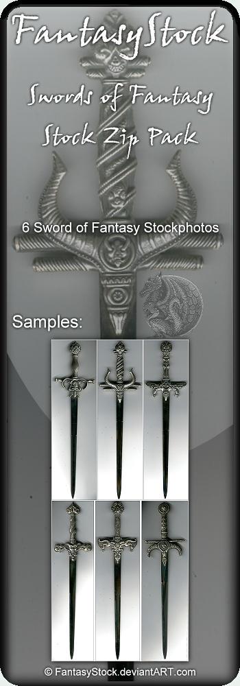 Swords of Fantasy Zip Pack by FantasyStock
