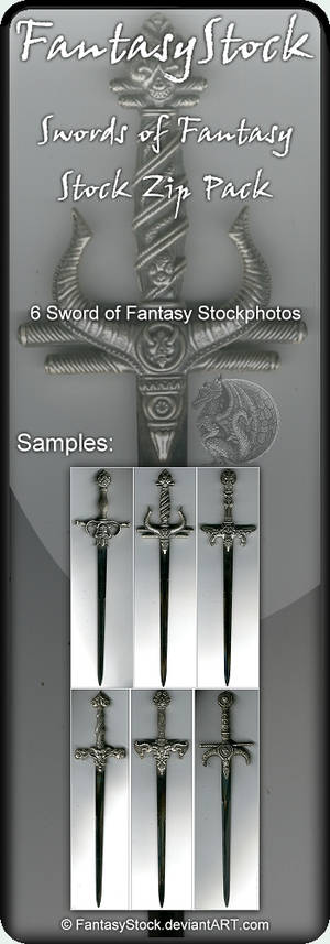 Swords of Fantasy Zip Pack