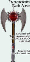 Funerium Weapon: Red Axe
