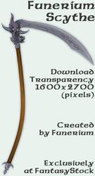 Funerium Weapon: Dragon Scythe by FantasyStock