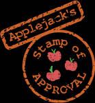 Applejack's Stamp of Approval SVG