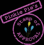 Pinkie Pie's Stamp of Approval SVG