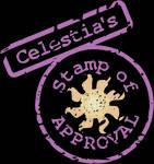 Celestia stamp of approval SVG by tiwake
