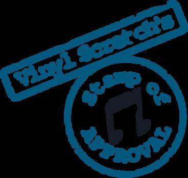 Vinyl Scratch Stamp Of Approval SVG by tiwake