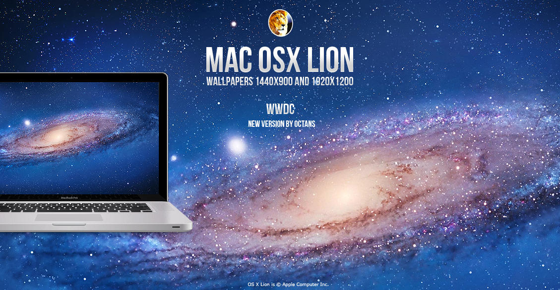 Mac OSX Lion Wallpapers By MathieuOdin