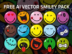 Free Ai Vector Smiley Pack
