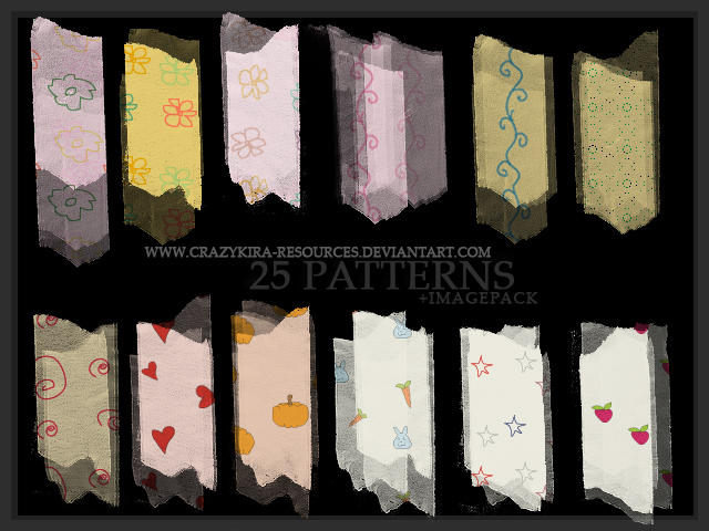 Cutie Patterns by crazykira-resources