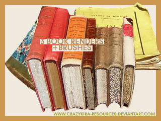 Old Books by crazykira-resources