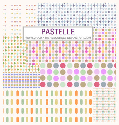 patterns.12 - Pastelle by crazykira-resources