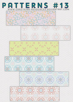 Patterns .13