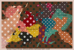 Patterns .16 - Polka Dots by crazykira-resources