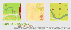 icon textures .23 by crazykira-resources