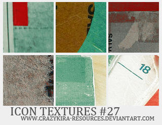 Icon Textures .27 by crazykira-resources