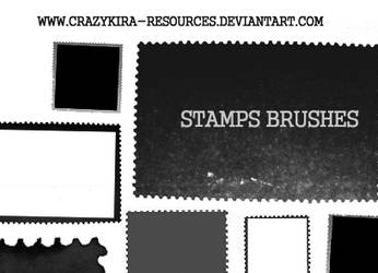 Stamp Brushes by crazykira-resources